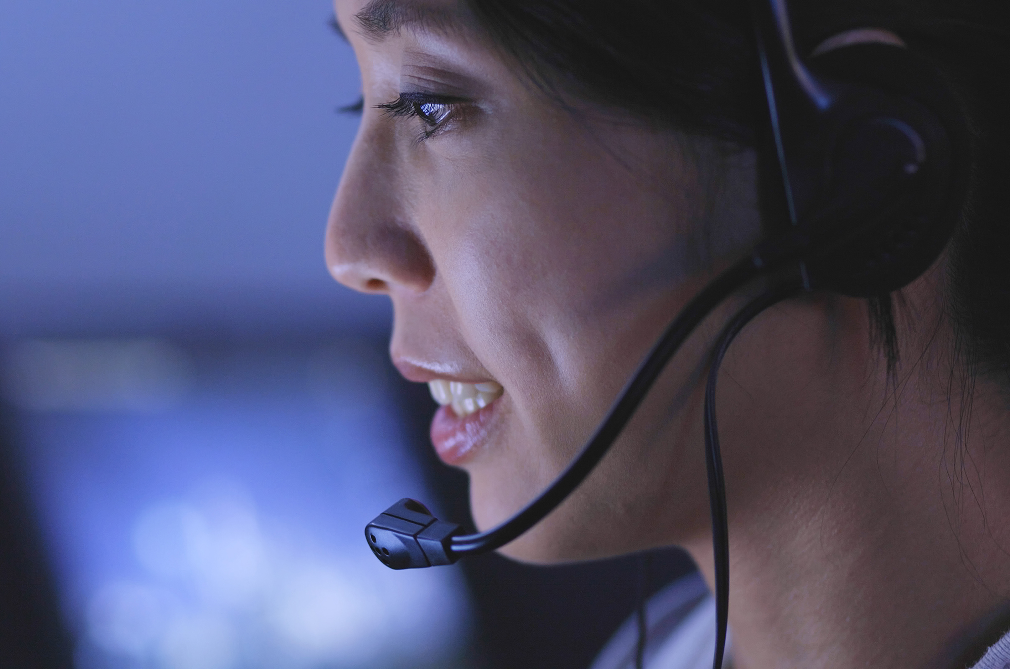 Woman customer services